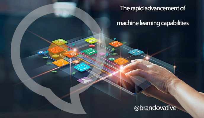 The rapid advancement of machine learning capabilities